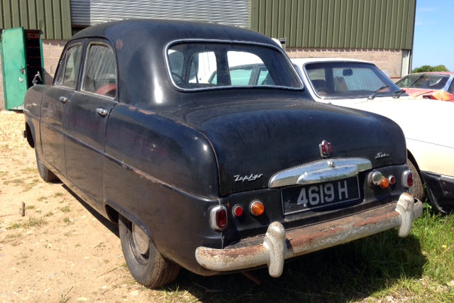 Daves Ford Zephyr Six - Dave's cool cars
