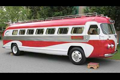 1946 Flxible Rv And It Runs