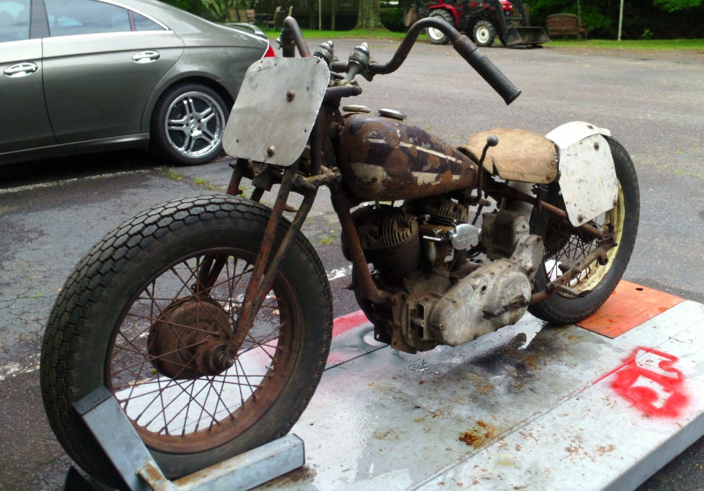 1940 Indian Sport Scout Period Racer