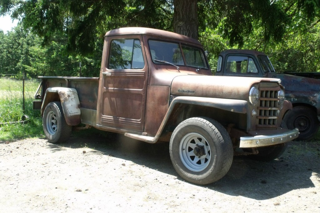 Willys Jeep For Sale >> 1953 Willys Pickup For $2,850