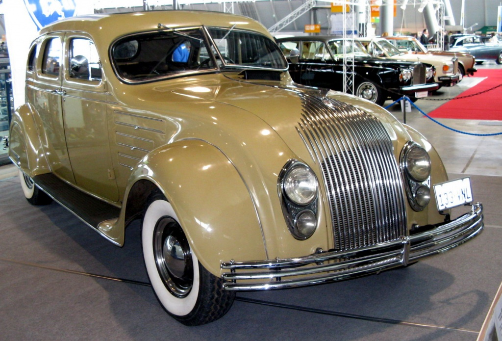 Parked Since 50 1934 Desoto Airflow
