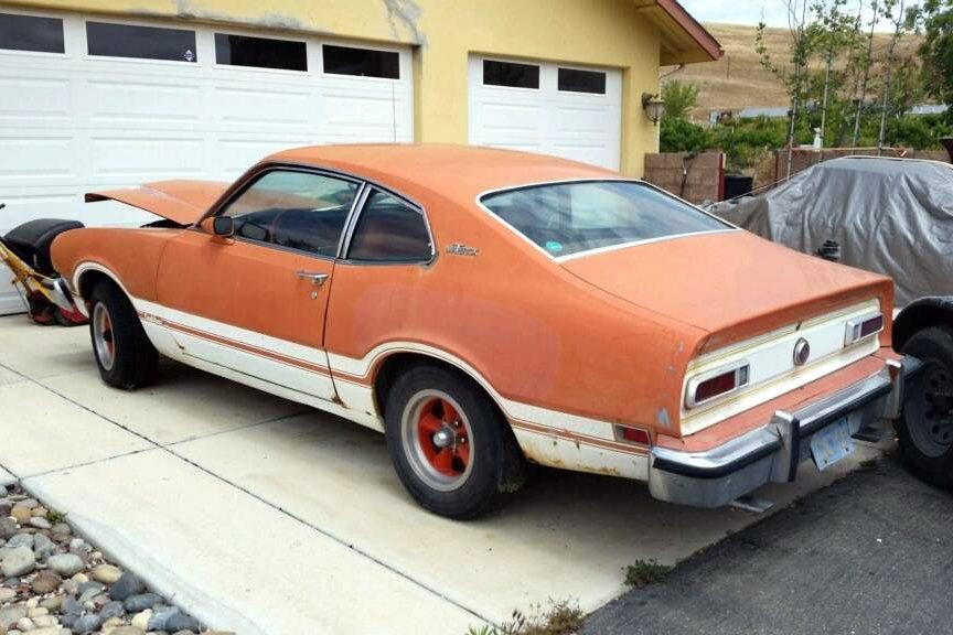 Hagerty Car Value >> 1974 Ford maverick grabber mpg