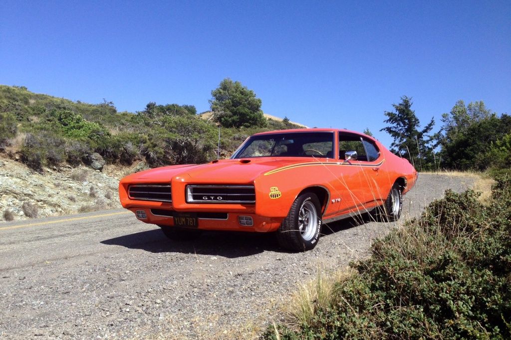 John s 1969 Pontiac GTO Judge