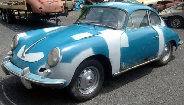 Porsche 356B Coupe