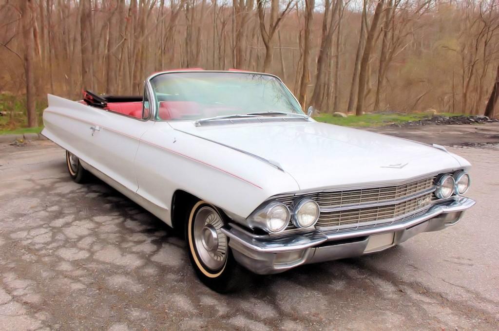 Dodge Challenger Convertible >> No Reserve: 1962 Cadillac DeVille Convertible