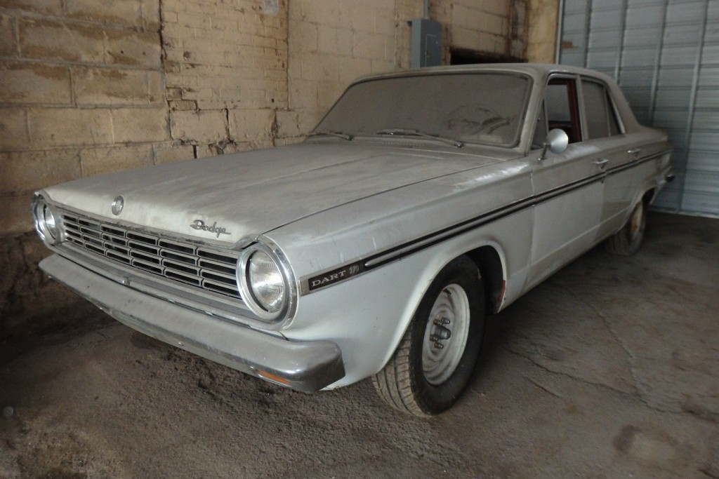 Dusty And Unloved 1965 Dodge Dart