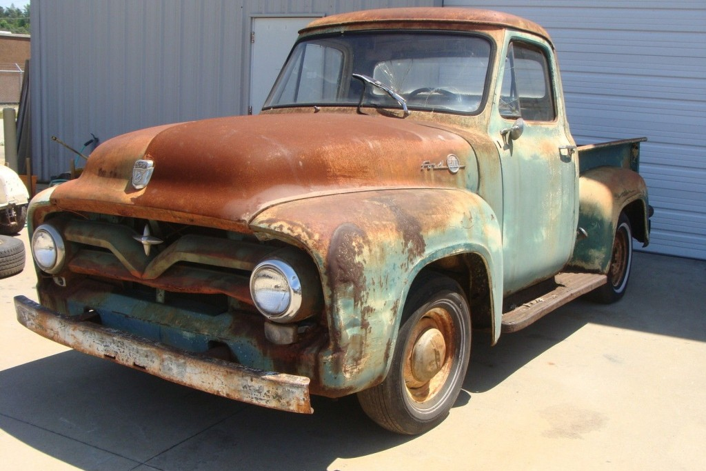 patina king 1950 ford f100. Black Bedroom Furniture Sets. Home Design Ideas