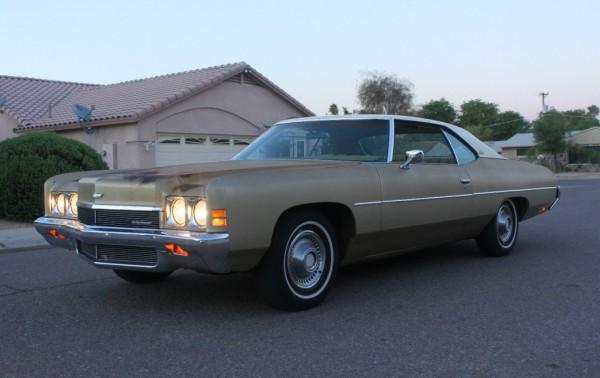 Fix A Dent >> Sun Bleached: 1972 Chevrolet Impala