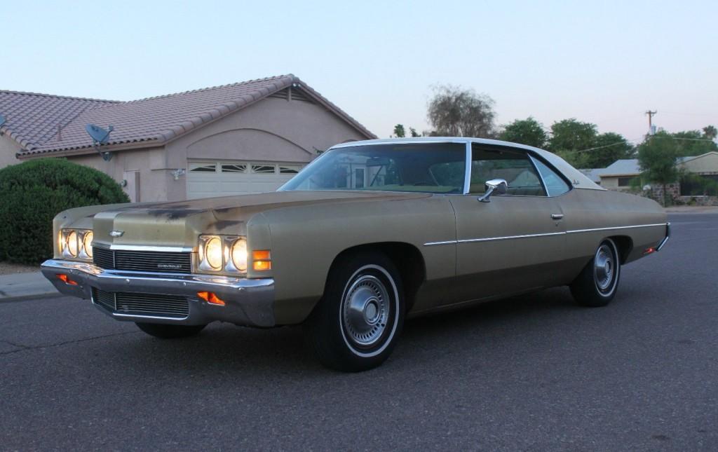 Sun Bleached  1972 Chevrolet Impala