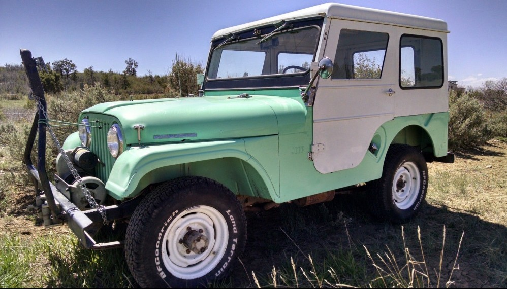 Dressed Up Jeep 1965 Cj5 Tuxedo Park