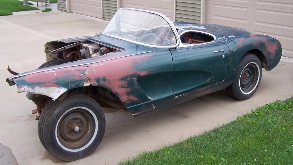 Forget Rule #1: 1956 Chevrolet Corvette