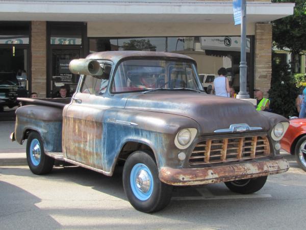 Swamp Find 1956 Chevy 3100 Truck