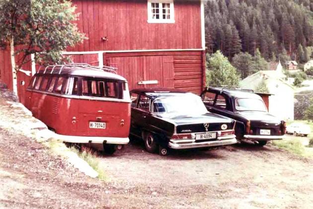 1957 VW Samba in 1970