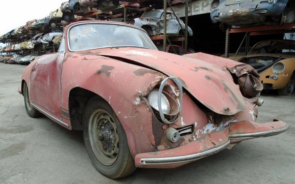 Porsches For Sale >> Junkyard Cabriolet: 1963 Porsche 356