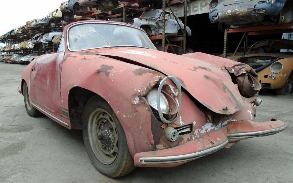 Junkyard Cabriolet 1963 Porsche 356