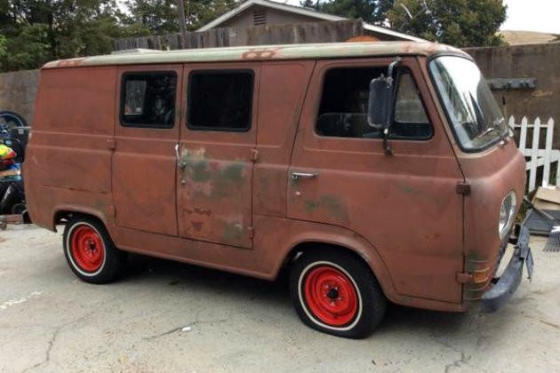 1966 Mustang Parts >> 1966 Ford Econoline: 18 Year Slumber