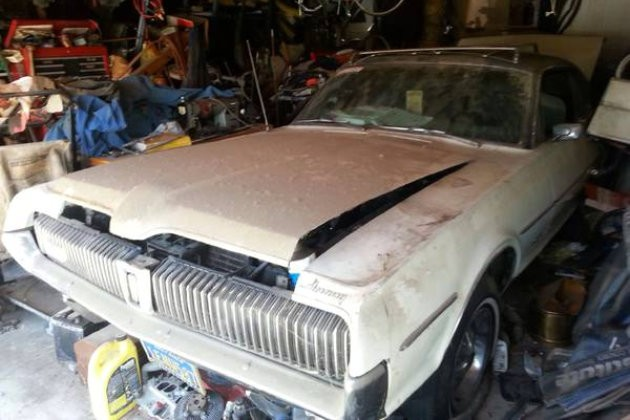 1967 Mercury Cougar Gt Garage Sale