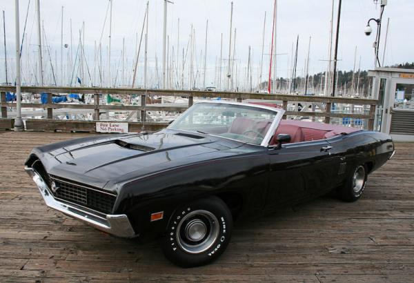 One Of Six 1970 Ford Torino Gt 429 Convertible