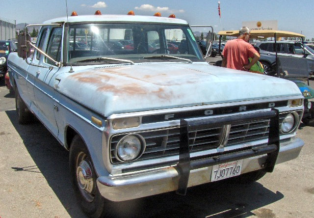 Ford F250 Parts >> 1975 Ford Extended Cab: Ready To Work