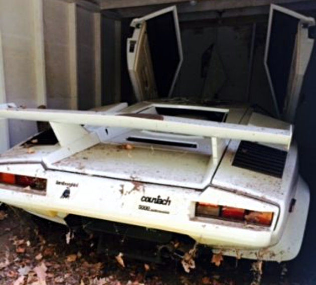 1985 lamborghini countach midwest barn find. Black Bedroom Furniture Sets. Home Design Ideas
