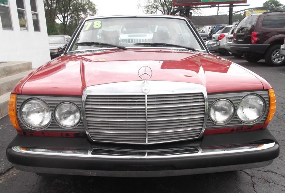 Lot find 1978 mercedes benz 280ce for Mercedes benz kalamazoo