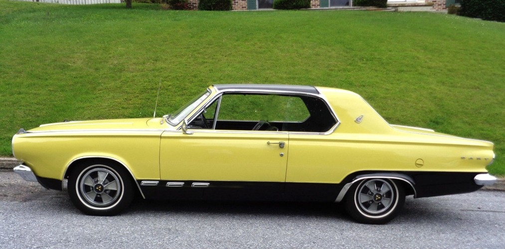 Same Owner For 46 Years 1965 Dodge Dart Gt