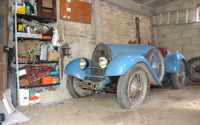 Amazing Bugatti Barn Find