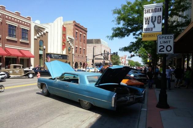 Cadillac At Car Show