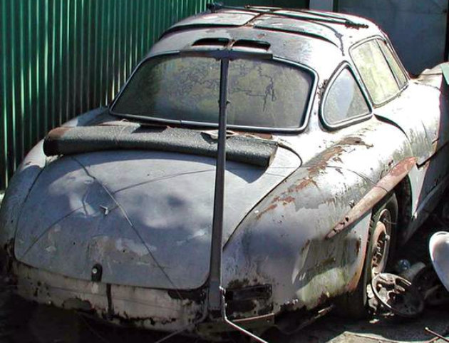 Has To Be Fake Mercedes Gullwing Find