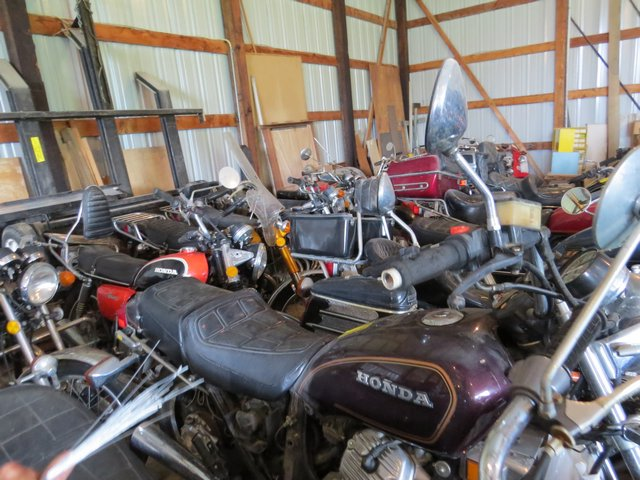 Huge Motorcycle Shop Liquidation