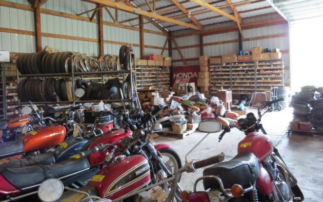 Motorcycle Shop Liquidation