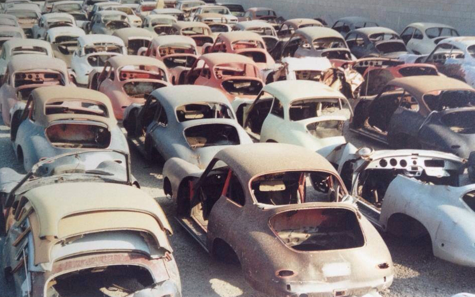 Porsche 356 Graveyard