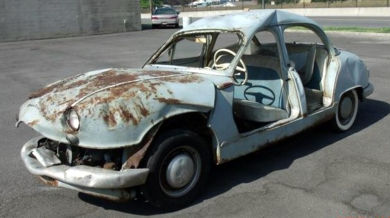 Rolled Runner 1958 Panhard Dyna Z