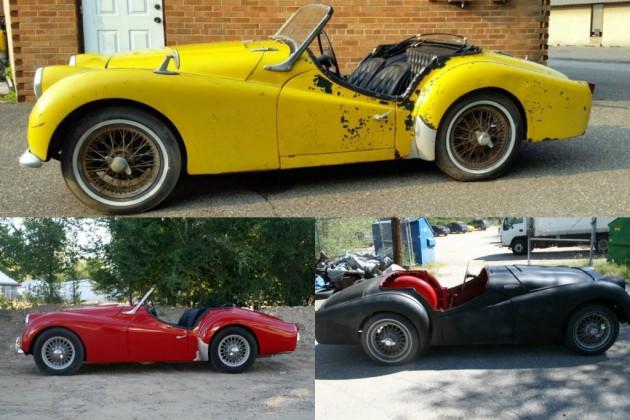 Triumph TR3s