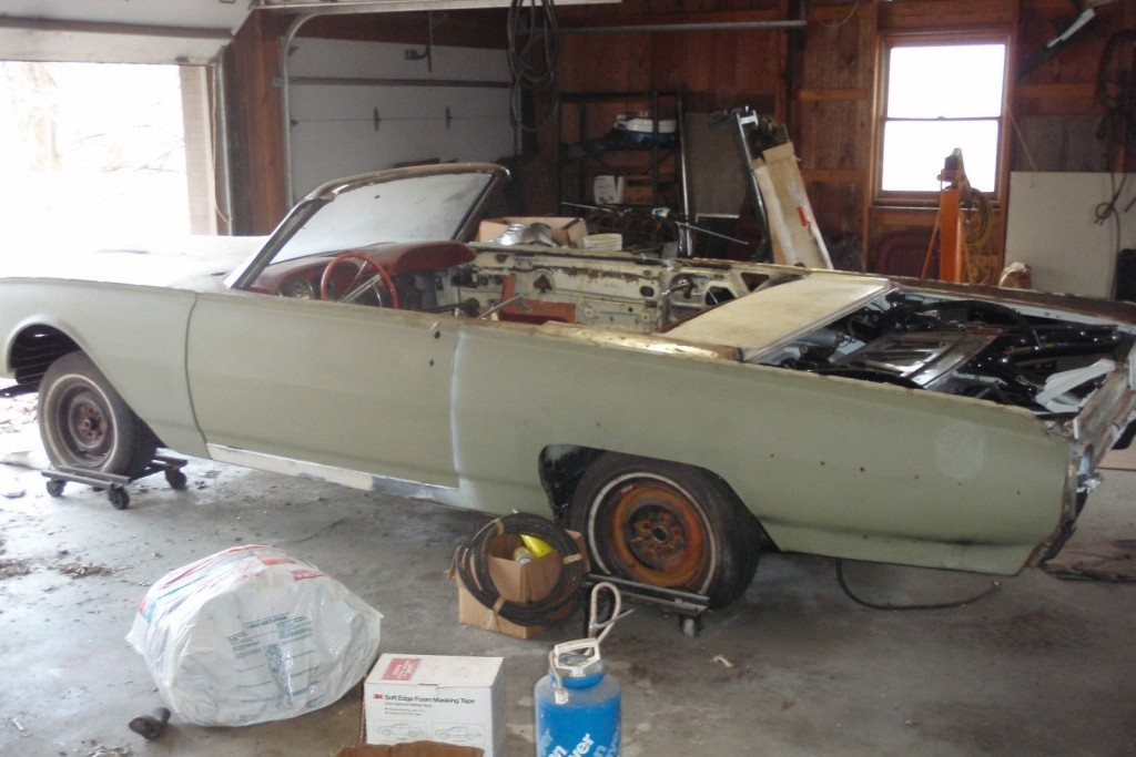 Stalled Project 1962 Thunderbird Convertible
