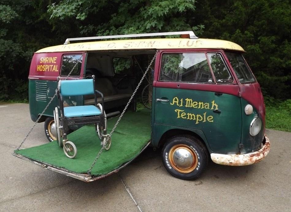 1965 Volkswagen Bus Shriner Driven