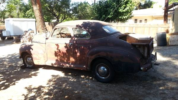 1941 Chevy Coupe Deluxe Truck!