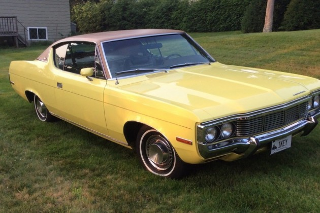 Matador Car: Quirky Coupe: 1972 AMC Matador