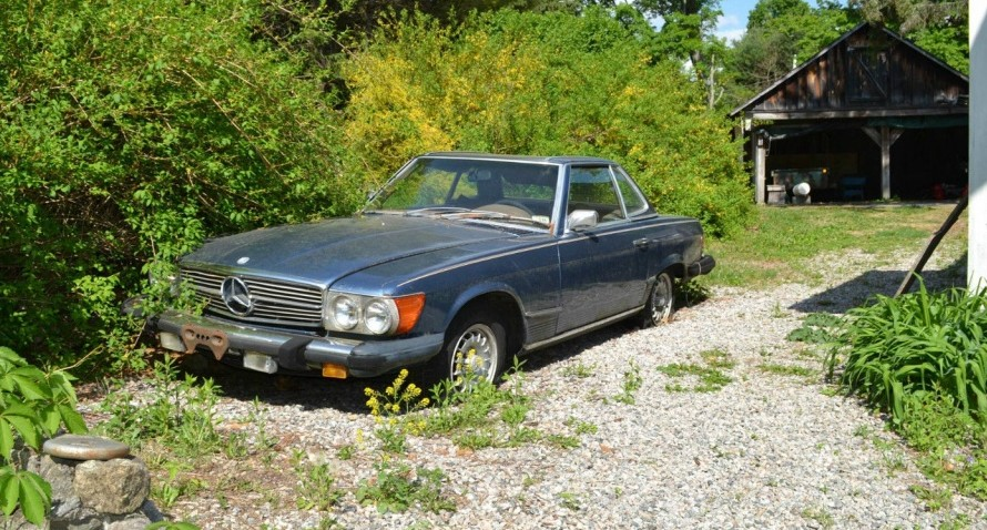 1974 Mercedes Benz 450sl Restored And Parked
