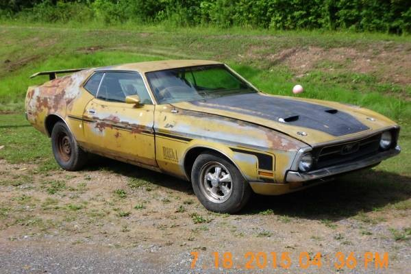 Not A Tease 1972 Mustang Barn Find