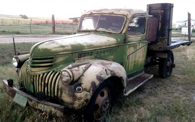 1940 Chevrolet Truck  Green  U0026 Mean