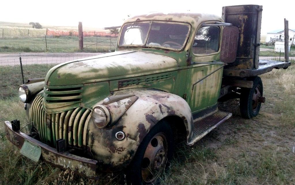 1940 Chevrolet Truck Green Amp Mean
