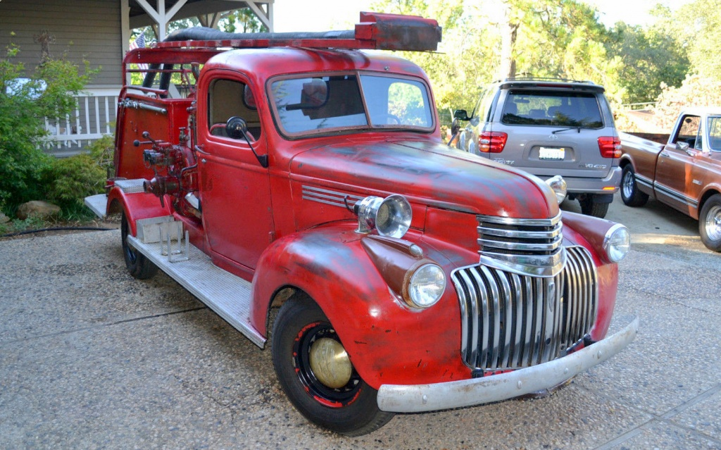 2015 Chevy Pickup >> Twin Engine Fire Truck: 1942 Chevrolet
