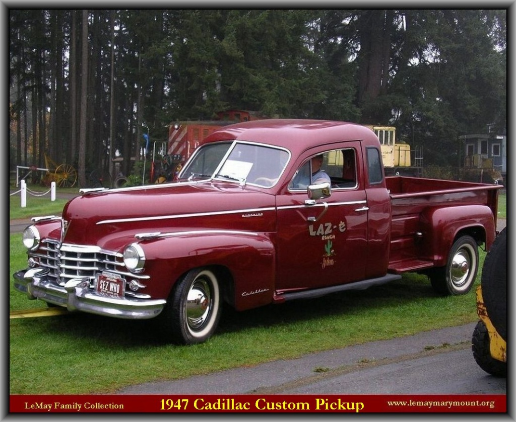 cadillac australia with 1948 Cadillac Pickup Genuine Article on 1997 2008 also AMC AMX 3 besides File 2008 Cadillac CTS sedan 03 further Que Significa El Vin De Un Auto likewise 1971 Triumph Spitfire.