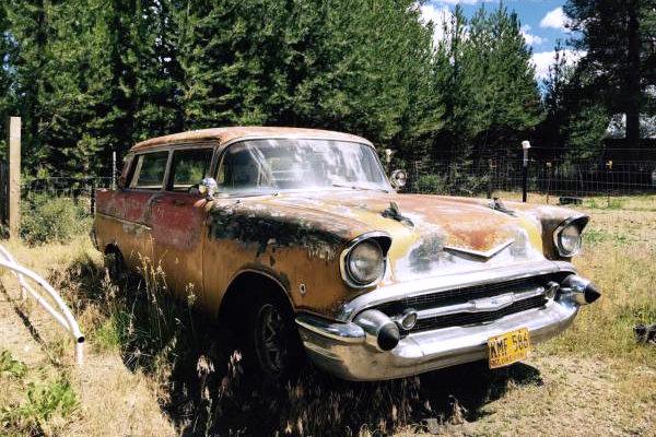 1957 Chevy Wagon Ambulance