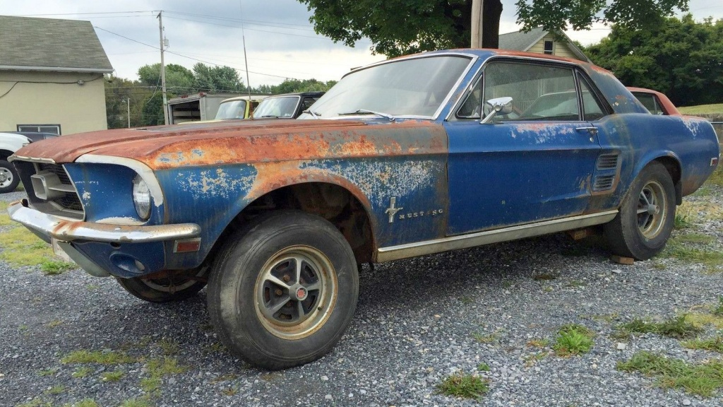 Fun Potential 1967 Mustang Project