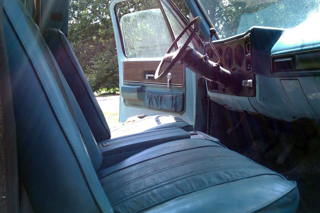 Big M Chevrolet >> 1973 Chevy Cheyenne Super 10: Lean-To Find