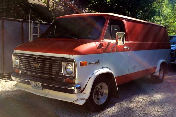 1976 Chevy G20 Van: Wall to Wall