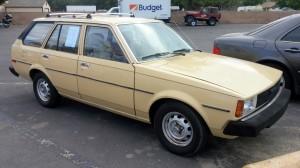 1981 Toyota Corolla Wagon