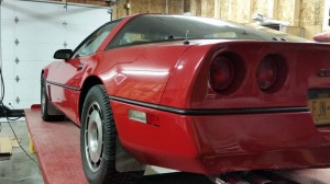 1985 Corvette: Dusty C4